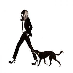 YSL and dog
